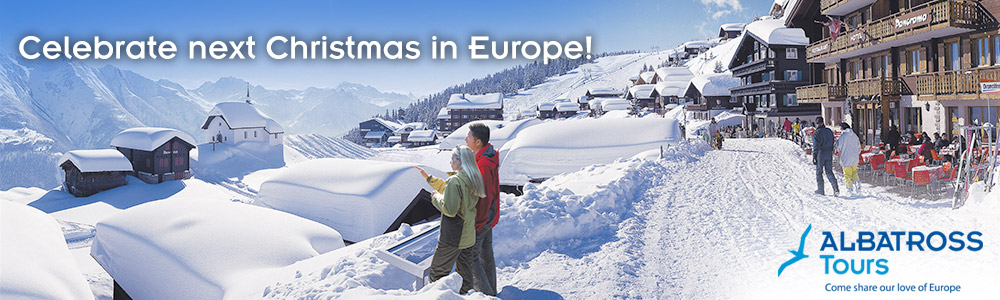 Albatross Tours - Celebrate next Christmas in Europe!