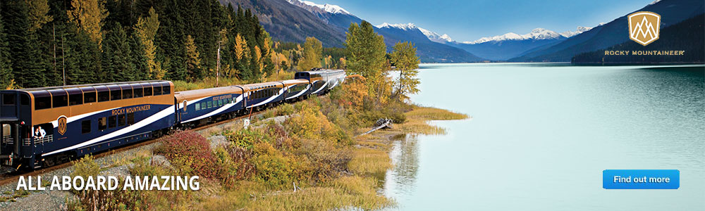 Rocky Mountaneer - Discover Canadian Rockies by Rail!